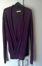 "Topman (Men's/Woman's/Unisex) Loose Fitting Purple (Plum) Cardigan Size ""S""."