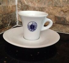 6 Tazzina piu Piattino Porcellana Caffè Borbone ORIGINALI