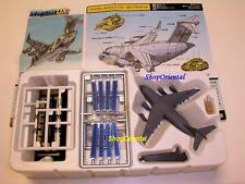 TAKARA WINGS DX MILITARY PLANE SET 12 + SPACE STATION MODEL 1:700 DX_Set12