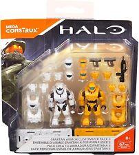 Mega Construx Halo Spartan Armor Customizer Pack Building Set