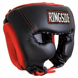 Ringside Leather Traditional Training Boxing Headgear (X-Large), new with tag
