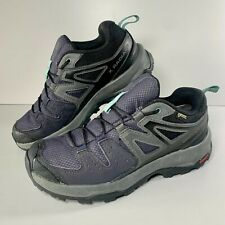 Women's Salomon X Radiant GTX 404841 Running Hiking Shoes Black Size UK 4
