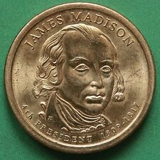 2007D usa un dólar $1 Uncirculated UNC James Madison SNo44008