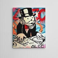 """16X20"""" Gallery Art Canvas: Alec Monopoly """"Music Studio"""" Los Angeles Contemporary"""