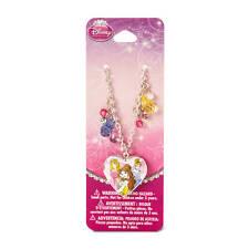 Disney Princess Necklace Sketch Drawing Heart Locket Pendant Cinderella Belle