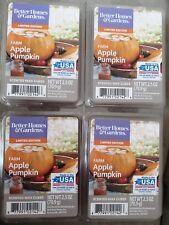 New Lot 4 Better Homes Gardens Scented Wax Cubes Melts Farm Apple Pumpkin