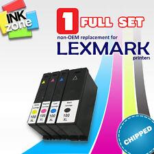 Full Colour Set Di Non-Oem Cartucce d'Inchiostro per Stampante LEXMARK GENESIS S815