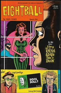 EIGHTBALL #1-9 (Daniel Clowes / Fantagraphics Books, 1989-92) - VF/NM