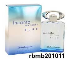 INCANTO BLUE Pour Homme by Salvatore Ferragamo 3.3 3.4 oz / 100 ml EDT Spray