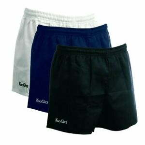 Kooga Men's Rugby Murrayfield Cotton Heavy Sports Shorts - New