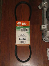 """NAPA/GATES  FHP BELT PART # 5L360 NEW """" OLD STOCK """" LOT OF TWO BELTS"""