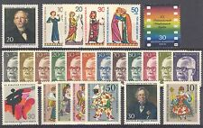 BUNDESPOST BERLIN - 1970 complete year MNH
