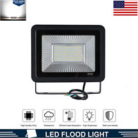 50W LED Flood Light Outdoor Floodlights Yard Garden Security Lamp Cool White