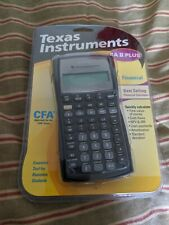NEW Texas Instruments BA II Plus Financial Calculator CFA Sealed
