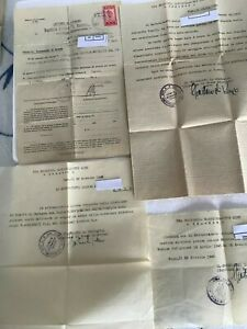 Documenti di Servizio Attività Militare II guerra