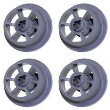 LOT de 4 BEKO 1885900800 1885900900 Roulette panier inferieur lave vaisselle