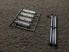 Lindberg 1:8 scale chrome mufflers