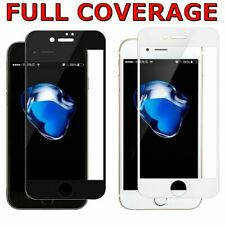 10D FULL COVER Tempered Glass Screen Protector for Apple iPhone 5 6 7 8 X 11 Pro