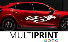 2x Large Tribal Body Panel Vinyl Stickers Graphics Decals Racing Car Van CHE4