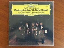 BRAHMS Klavierquintett op. 34 * POLLINI * QUARTETTO ITALIANO