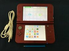 Nintendo New 3DS XL Red Console,USB Charging Cable,Works Great,PLEASE READ