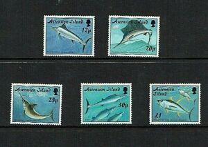 Ascension Island: 1997  Game Fish,  MNH set