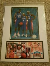 USPS NBA 2005 ALL-STAR GAME LEBRON JAMES, SHAQ, IVERSON PHOTO - 1ST DAY COVER