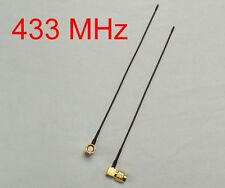 """2x 433 MHz UHF """"Sander"""" style tuned SMA antenna for FPV LRS, telemetry, TX or RX"""