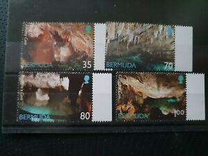 Bermuda 2002 Caves set of 4, MNH
