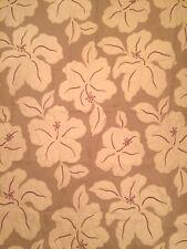 DESIGNERS GUILD Flower Linen White Velvet Embroidery Panel New