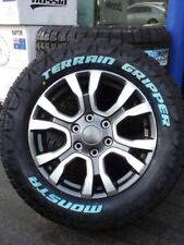 Ford Ranger Wild Track Wheels And All Terrain Tyres 285/60/18 Monsta