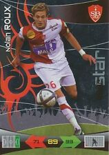 ROUX STAR BREST BRESTOIS TRADING CARDS ADRENALYN PANINI FOOT 2011
