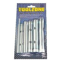 6PC Box Tubular Spanner Set 10-19mm