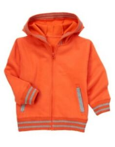GYMBOREE SUPER DUDE RED HOODED JACKET 3 4 5 6 7 8 10 12 NWT