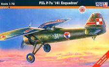 PZL P-7 A - WW II FIGHTER (POLISH AF MARKINGS, SEPTEMBER 1939) 1/72 MISTERCRAFT