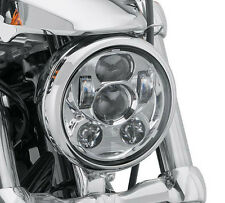 "5.75"" LED Chrome Headlight Daymaker For Harley Dyna Wide Glide FXDWG/Low Rider"