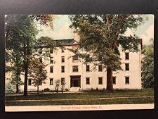Postcard Upper Alton IL c1908 - Shurtleft College - Flag Cancel