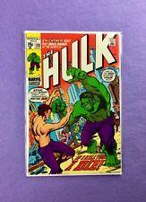 Incredible Hulk #130 (1970): 1st Appearance of Banner-less Hulk!  VF+!