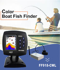 LUCKY FF918-CWLS Wireless Color Sonar Fish Finder 300M/980ft English/Russian