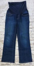 Motherhood Maternity Denim Jeans Women's Size Petite Small Belly Band