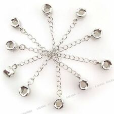 25x Threaded Safety Chain Stopper Beads Fit European Charms Bracelet 88mm Lots L