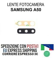 VETRO LENTE FOTOCAMERA POSTERIORE CON BIADESIVO PER SAMSUNG A50 SM-A505F CAMERA