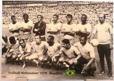Brasile + CALCIO Weltmeister 1970 + il finale + Fan Big CARD EDITION a34 +