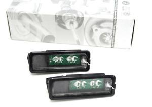 Original VW LED Kennzeichenbeleuchtung für Golf 4 5 6 Polo 6R Scirocco Passat 3C