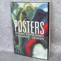 KATSUHIRO OTOMO Graphic Design POSTERS Illustration Art Book 75*