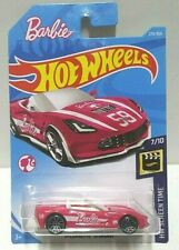 2018 Hot Wheels Screen Time Barbie '14 Corvette Stingray Pink 273