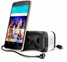Alcatel Idol 4 Smartphone da 16GB, Oro [Italia] (q3G)