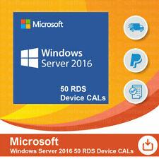 Microsoft Windows Server 2016 - 50 Device/Geräte CAL (RDS)
