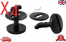4x BMW Floor Carpet Mat Clips E36 E46 E38 E39 Series- Twist Lock + Washers
