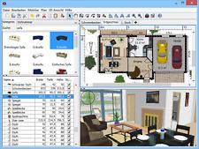 3D + 2D Raumplaner - Haus Zimmer Büro - Inneneinrichtung Software